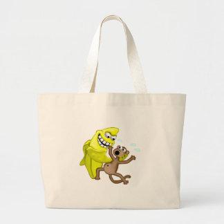 bad banana canvas bag