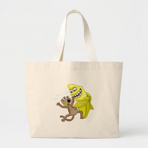 bad banana tote bag