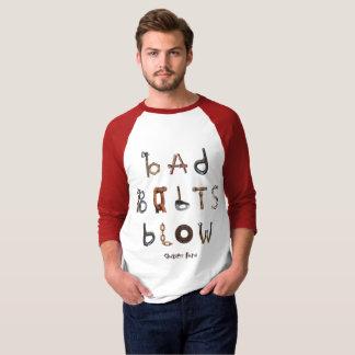 Bad Bolts Blow - 3/4 Raglan Shirt
