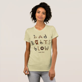 Bad Bolts Blow - American Apparel Fine Jersey Tee