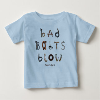 Bad Bolts Blow - Baby Fine Jersey T-Shirt