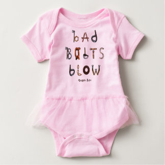 Bad Bolts Blow - Baby Tutu Bodysuit