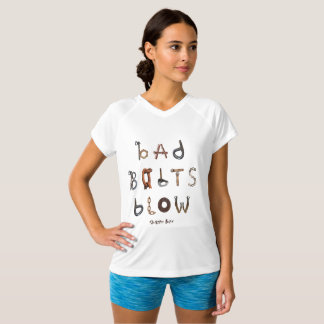 Bad Bolts Blow - Double Dry V Neck T-Shirt