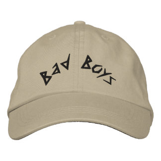 Bad Boys Embroidered Cap Embroidered Hats