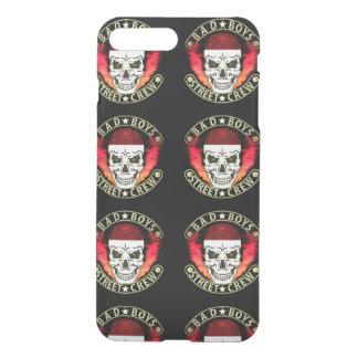 Bad Boys Street Crew Bandana Skull Black & Gold iPhone 7 Plus Case