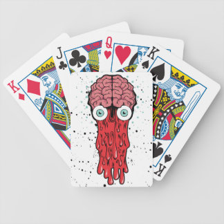 bad brain bicycle playing cards