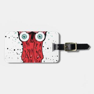 bad brain luggage tag