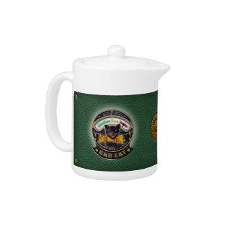 Bad Cat radio tea pot