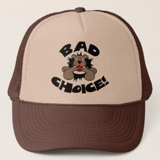 Bad Choice Bulldog Trucker Hat