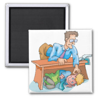 Bad Classroom Behavior Magnet