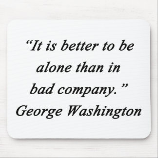 Bad Company - George Washington Mouse Pad