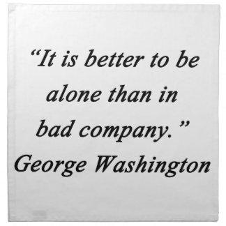 Bad Company - George Washington Napkin