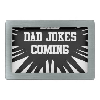Bad dad jokes coming belt buckle