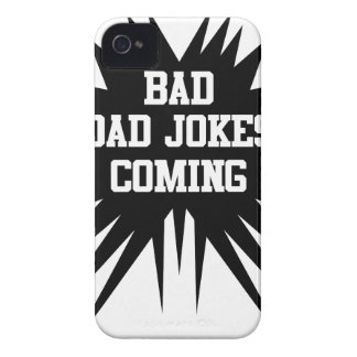 Bad dad jokes coming Case-Mate iPhone 4 case