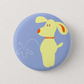bad dog 2 inch round button