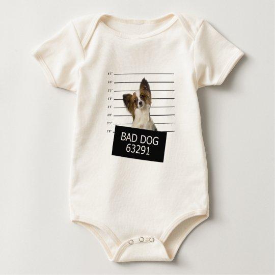 Bad dog baby bodysuit