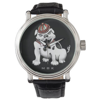 Bad Dog Bulldog Fun Wrist Watch