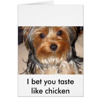Bad Dog Card