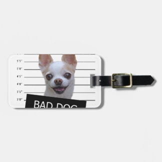Bad dog - Chihuahua Luggage Tag
