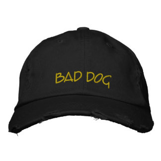 Bad Dog Embroidered Hat