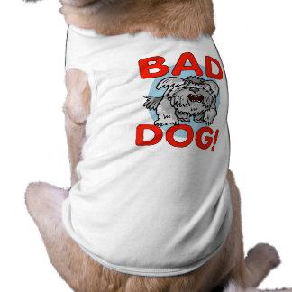 Bad Dog Pet Tshirt