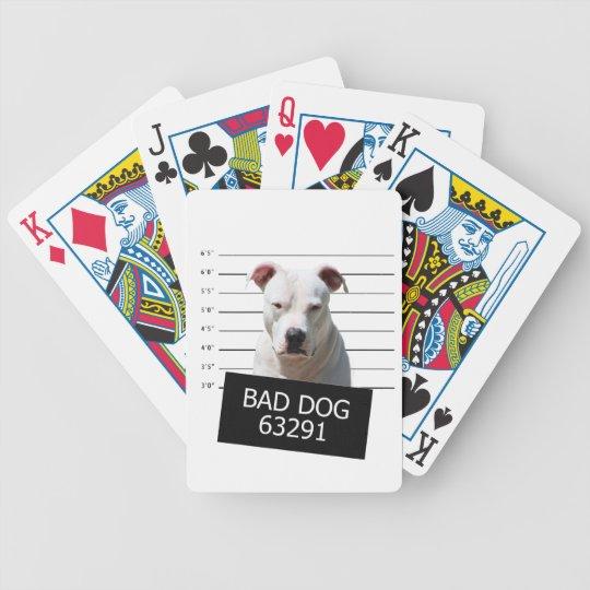 Bad dog poker deck