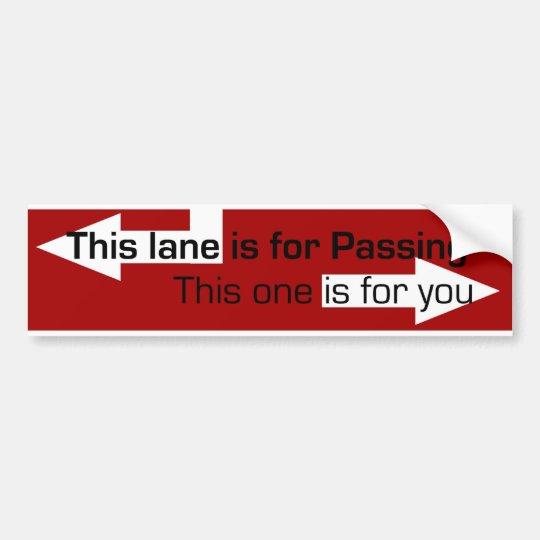 bad drivers bumper sticker
