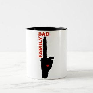 Bad Family Two-Tone Coffee Mug