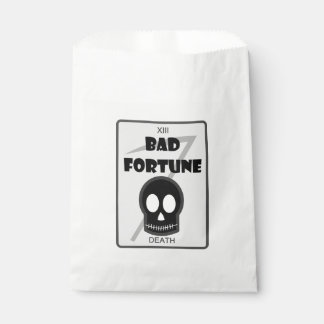 Bad Fortune gift bags