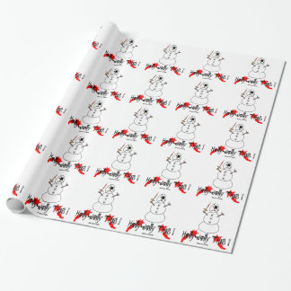 Bad Frosty Wrapping Paper