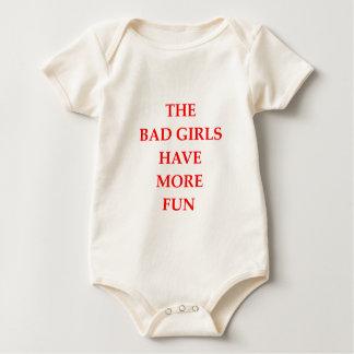 bad girls baby bodysuit
