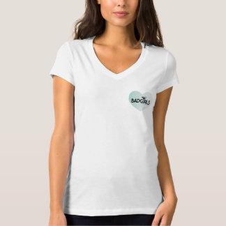 Bad Girls Good Deeds - Ladies Logo(Heart) T-Shirt