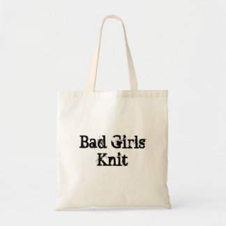 Bad Girls Knit Tote Bag