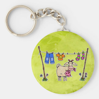 bad goat keychain