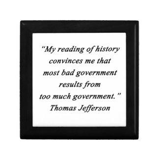 Bad Government - Thomas Jefferson Gift Box