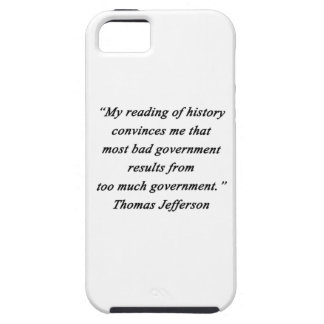 Bad Government - Thomas Jefferson iPhone 5 Covers