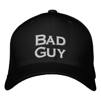 Bad Guy Hat Embroidered Baseball Caps
