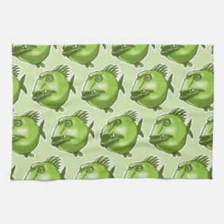 bad guy ugly fish funny cartoon towel