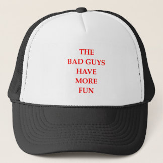 bad guys trucker hat