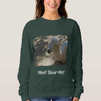 Bad hair day Alpaca sweatshirt