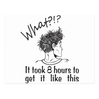 Bad Hair Day / BedHead Postcard