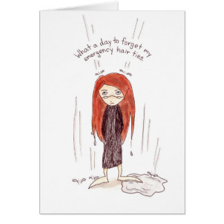 Bad Hair Day Card