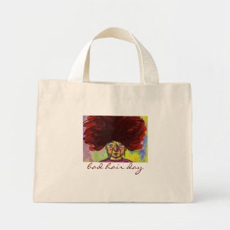 Bad Hair Day Mini Tote Bag