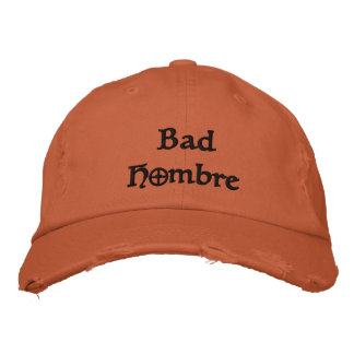 Bad Hombre immigrants unity baseball cap