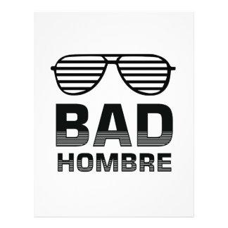 Bad Hombre Letterhead