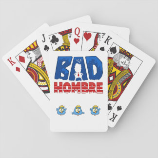 Bad Hombre Playing Cards