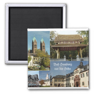 Bad Homburg Square Magnet