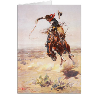 Bad Hoss Russell Fine Art Card