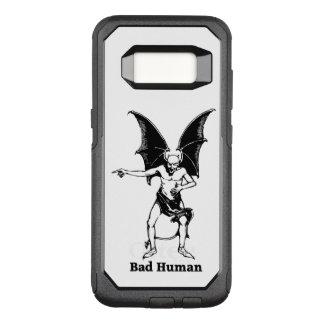 Bad Human mocking Devil OtterBox Commuter Samsung Galaxy S8 Case