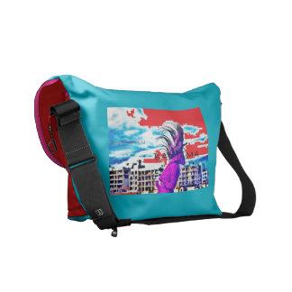 Bad Jama Messanger Bag- by Kay Loven Courier Bag